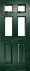 door_classical_half_glaze_green
