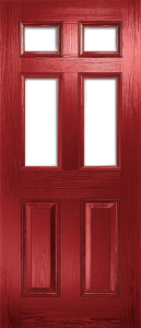 door_classical_half_glaze_red