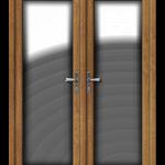 French Door Irish Oak Foil