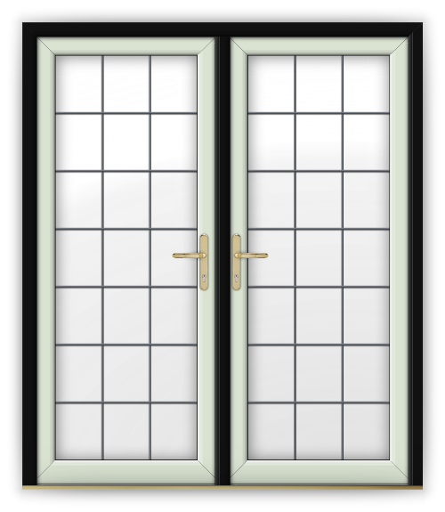The gallery for white door png for White french doors