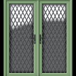 French Door Green