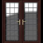 French Door Rosewood