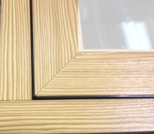 Flush Sash timber look