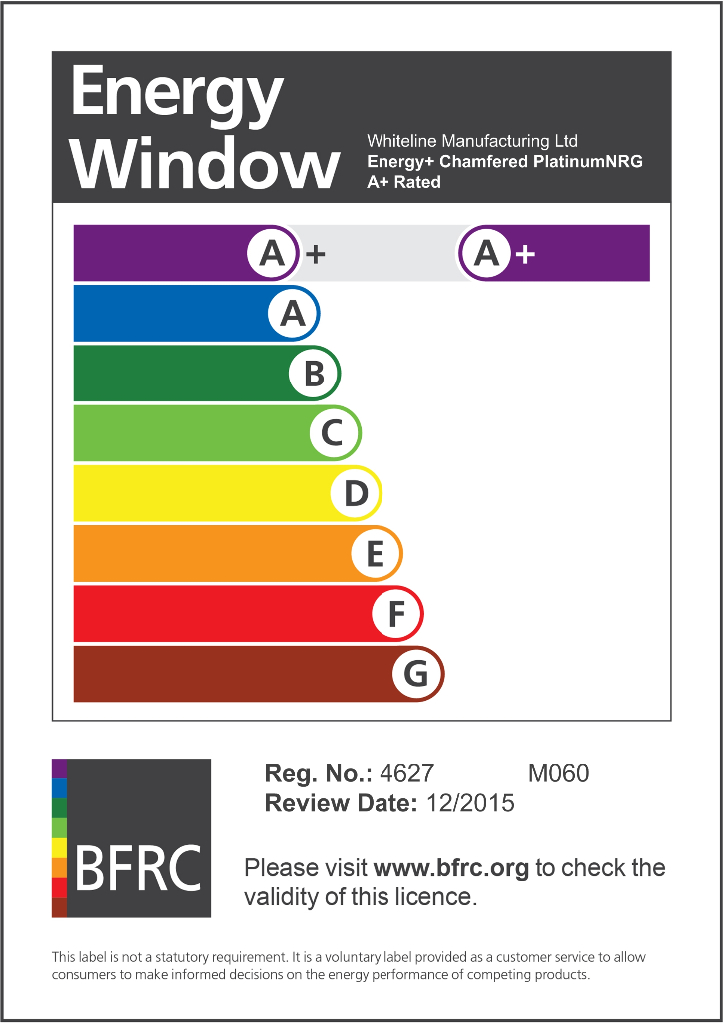 Peace of mind heathfield windows for Window ratings